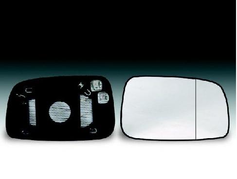 à partir de 2007 Toyota auris porte aile miroir verre de remplacement-côté gauche